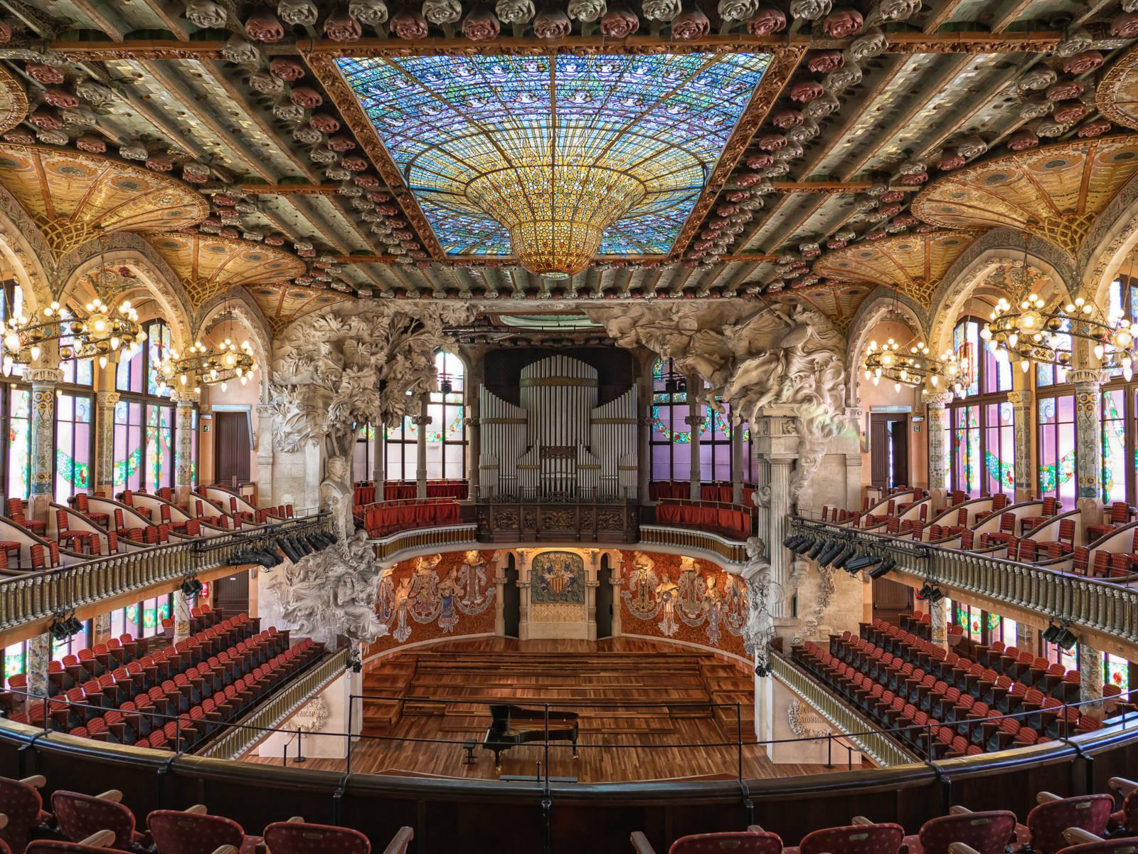 BARCELONA, Palau de la musica catalana