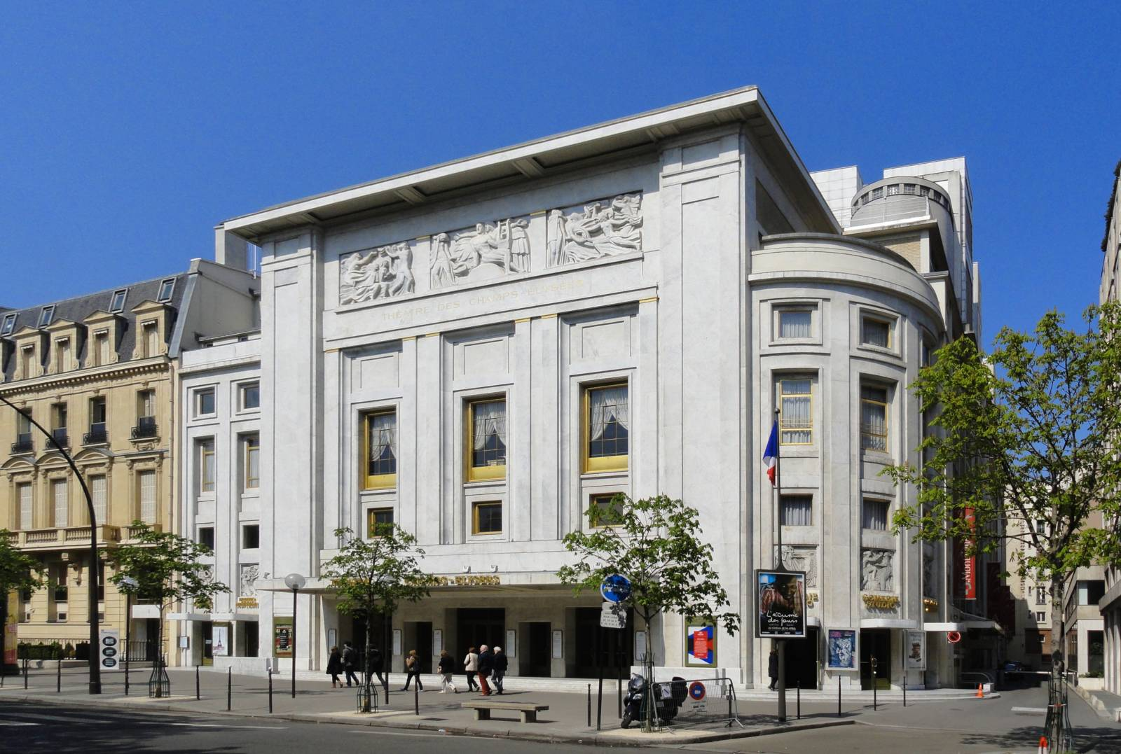 PARIS, Théâtre des Champs-Elysées